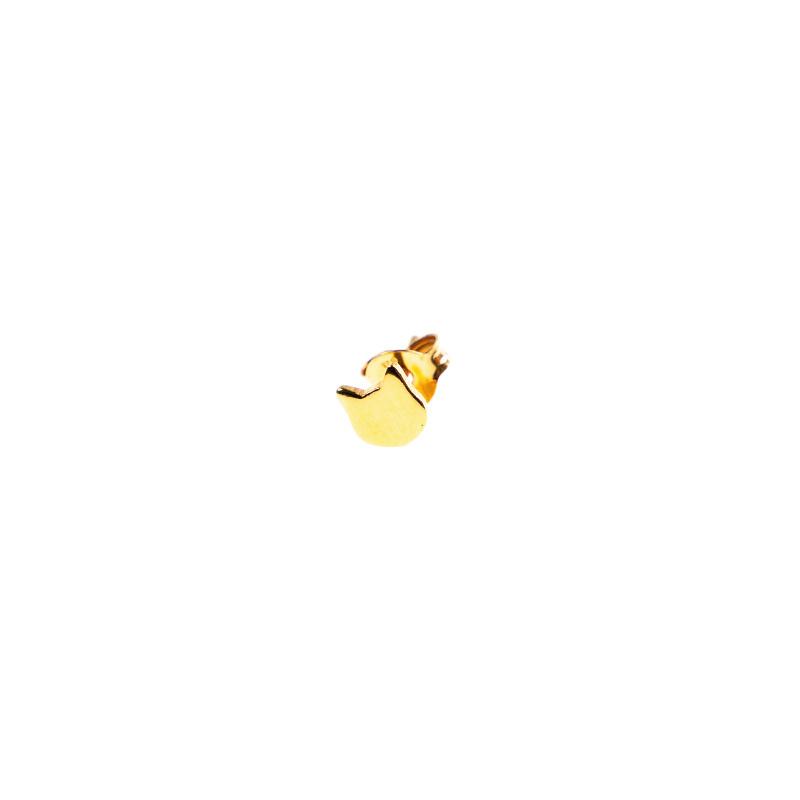 oorring single - cat gold - Selva Sauvage