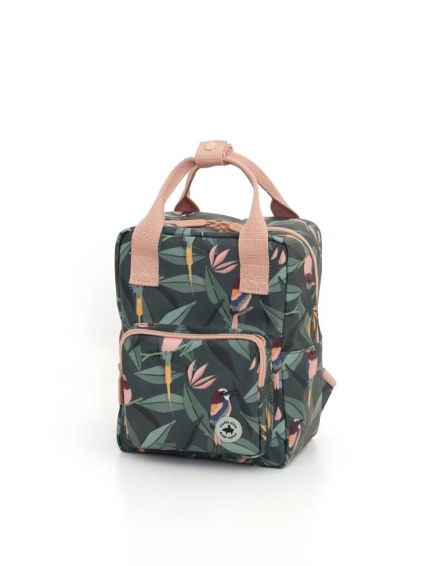 Backpack  small - Birds - Studio Ditte