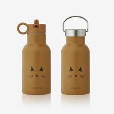 Anker drinking bottle - cat mustard - Liewood