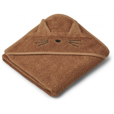 Badcape Albert - Cat terracotta - Liewood