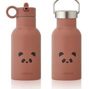 Anker drinking bottle - panda dark rose - Liewood