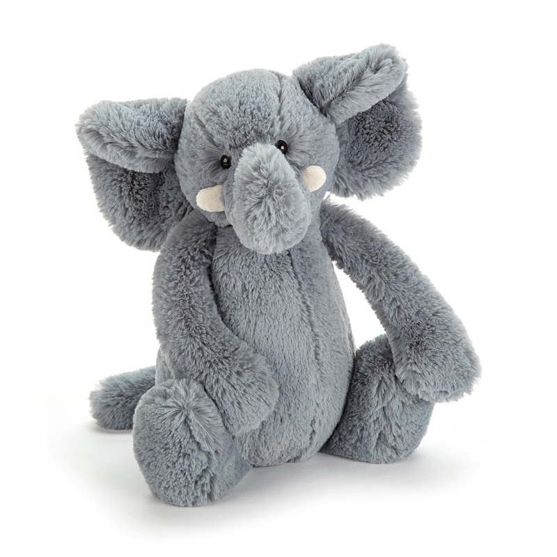Knuffel - bashful elephant medium - Jellycat