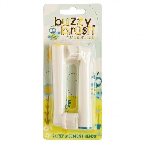 Vervangkopjes electrische tandenborstel  - buzzy brush - Jack'N Jill