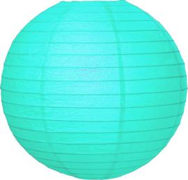 Lampion licht blauw
