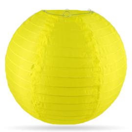 Nylon lampion buiten geel