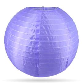 Nylon lampion buiten paars