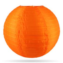 Nylon lampion buiten oranje