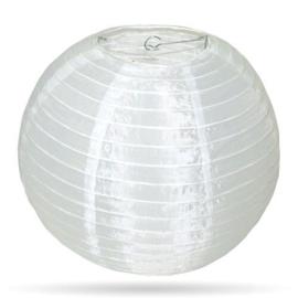 Nylon lampion buiten wit