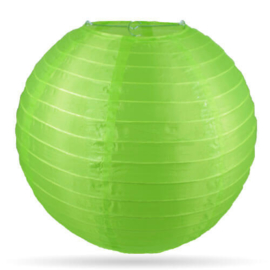 Nylon lampion buiten groen
