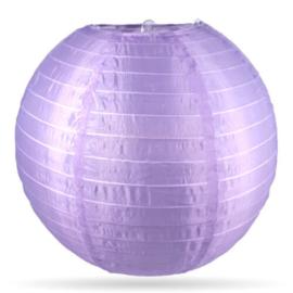 Nylon lampion buiten lila