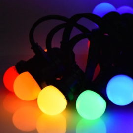 Prikkabel met gekleurde led lampen