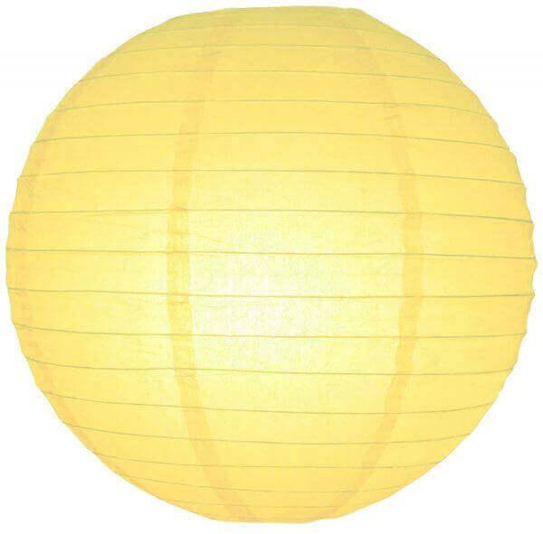 Lampion licht geel