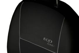 Bensoi Voorstoelen ECO line Zwart / Grijze Bies