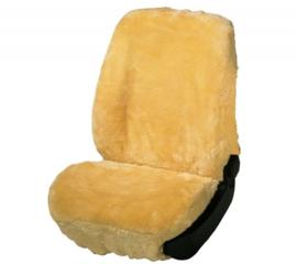 Autostoelhoes Schapenvacht Beige