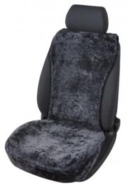 Autostoelbedekking Lamsvacht Vogue Zwart