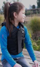 Horka Flexplus Bodyprotector voor kinderen | Zwart