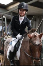 Wedstrijdkleding voor het paardrijden
