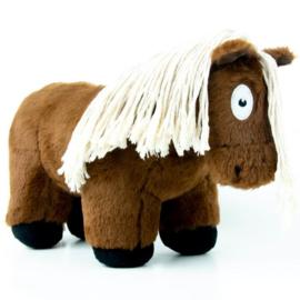 Crafty Ponies paarden knuffel | bruin | 48 cm
