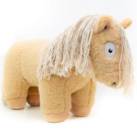 Crafty Ponies paarden knuffel | palomino | 48 cm