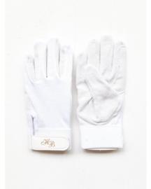 HB Paardrijhandschoenen Katoen | Wit