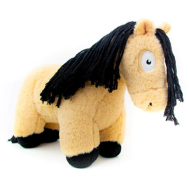 Crafty Ponies paarden knuffel   wildkleur   48 cm