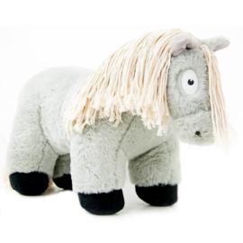Crafty Ponies paarden knuffel | grijs | 48 cm