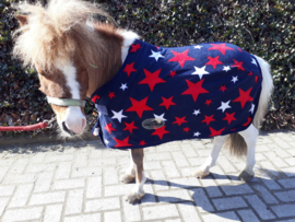 Harry & Hector Star Fleece Donkerblauw