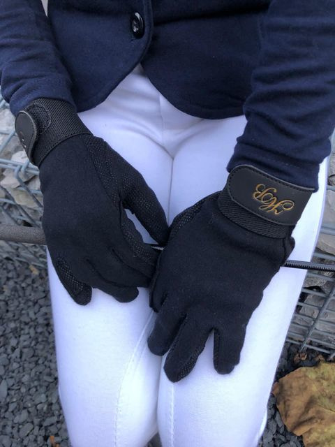 HB handschoenen katoen | zwart