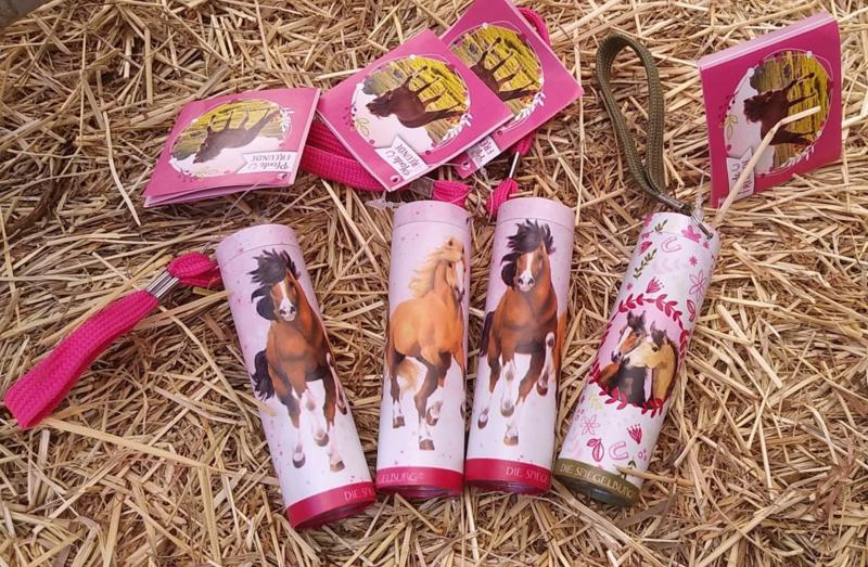 Kleine paarden zaklamp