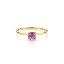 Stapel Paars & Roze | 5 ringen