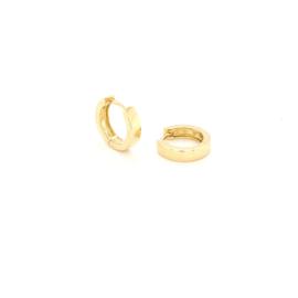 Vierkante Gouden Creolen | Klein
