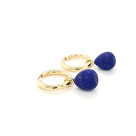 Creoolhangers met Lapis Lazuli AAA