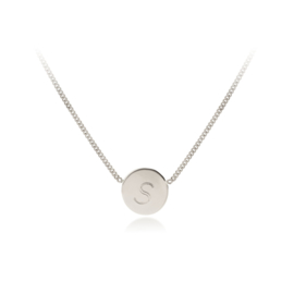 Letter Collier | Palladium Witgoud