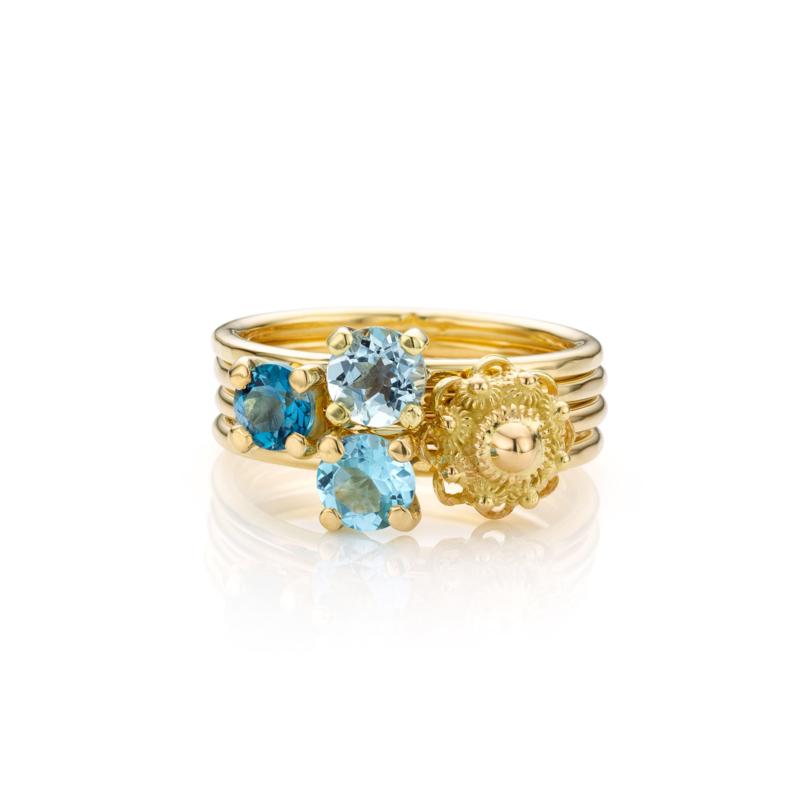 Stapel Blauw en Zeeuws | 4 ringen