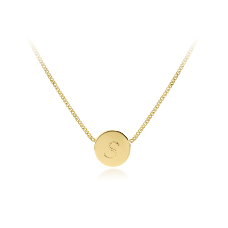 Letter Collier | Geelgoud