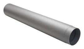 1 meter dikwandig staal 2mm grijs/antraciet