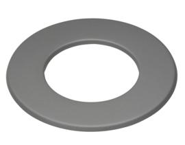 Rozet dikwandig staal 2mm grijs/antraciet