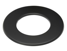 Rozet dikwandig staal 2mm zwart