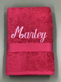 Handdoek gepersonaliseerd