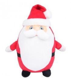 Kerstman of sneeuwman geborduurd op buik