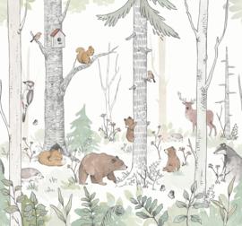 Forest -Natural Behang