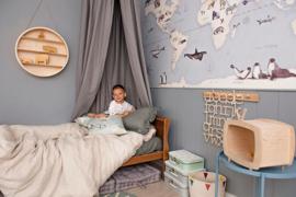 Blue maps- Behang