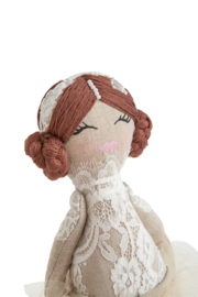 Ballerina Lace Doll- Brown/Brunette