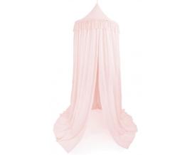 Cotton & Sweets Boho Canopy Fringe 235cm XL- Powder Pink
