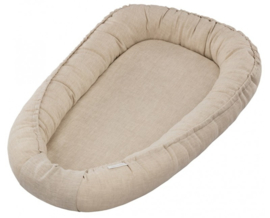 Cotton & Sweets Linnen babynest Pure Nature-Natural