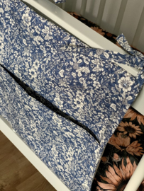 Boxzak-organizer-Vintage Blue Flowers