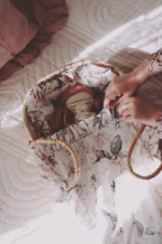 Babypop Beddengoed set -Pastel Flowers