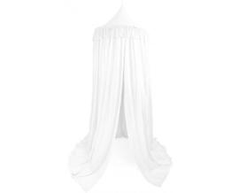 Cotton & Sweets Boho Canopy Fringe 235cm XL- White