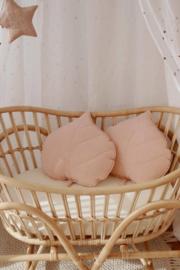 Sierkussen Leaf, Soft Pink-MoiMili