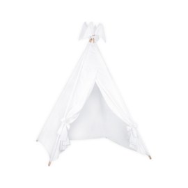 Tipi tent Cotton/Muslin White